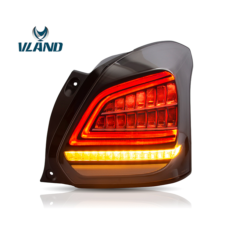 Vland Factory Car Accessories Tail Lamp for Suzuki Swift 2017 up LED Tail Light with Full Led and Sequential Indicator