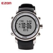 Top Marca EZON H506 Al Aire Libre Senderismo Escalada de Montaña Sport Reloj de Los Hombres Digitales Relojes Altímetro Brújula Barómetro