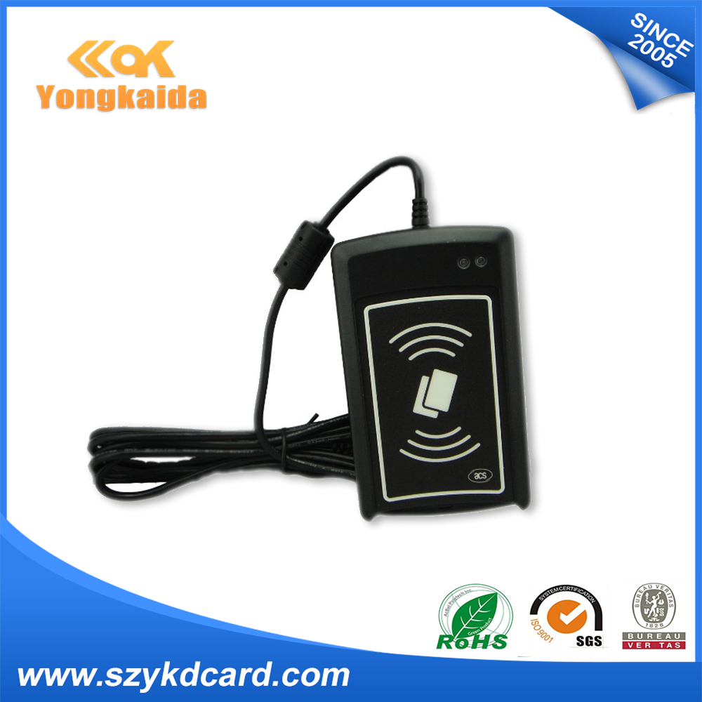 YongKaiDa nfc reader copier ACS ACR110 contactless smart card reader RFID card writer yongkaida 13 56mhz acr1255u j1 iso18092 nfcip 1 compliant with bluetooth usb nfc card reader writer