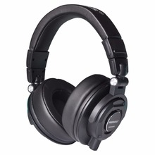 MDH9000 Monitor Headphones with 50mm Drivers Single-side Detachable cable 3.5mm Plug 6.35mm adapter Headset Headphones