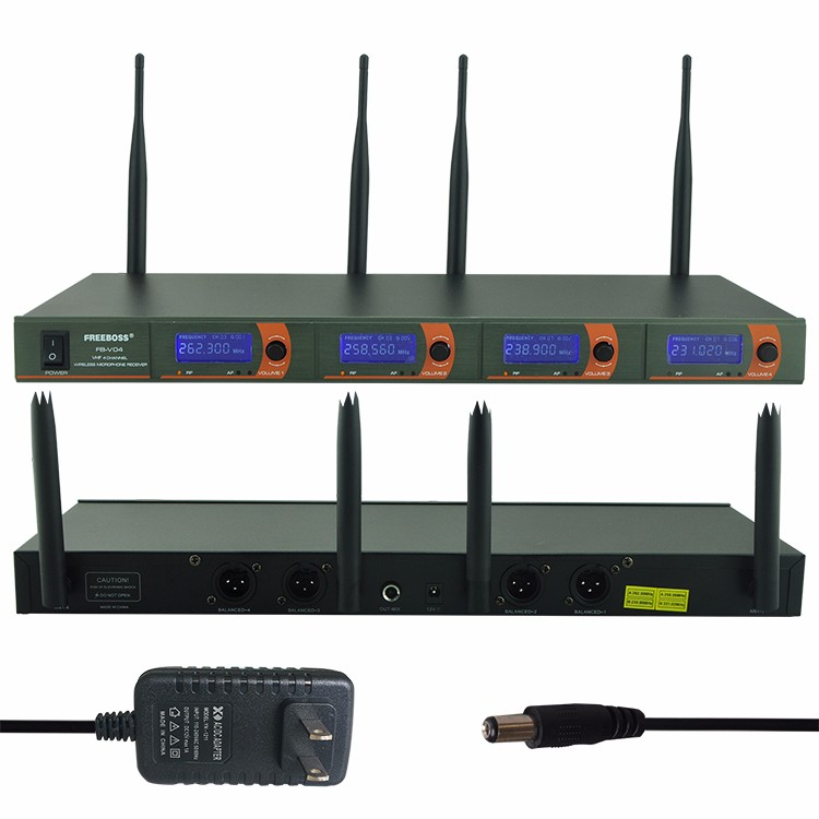 FB-V04  17 Wireless Microphones