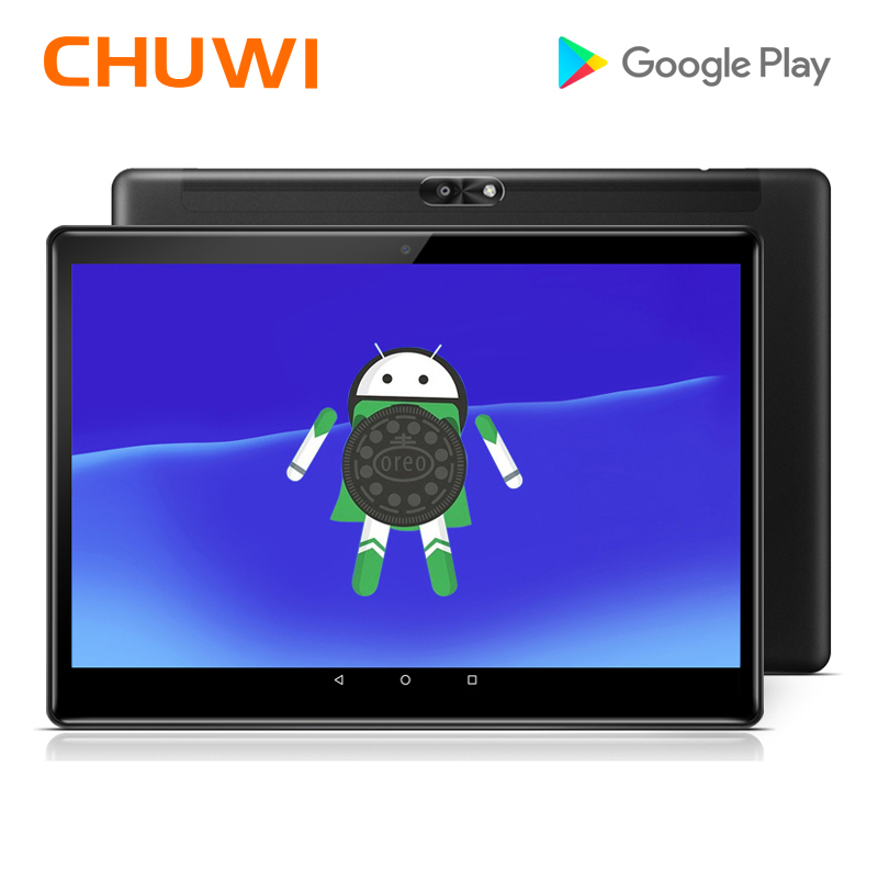 Original CHUWI Hi9 aire Tablet PC MT6797 X20 Deca Core Android 8,0 4 GB RAM 64 GB ROM 2 K pantalla Dual 4G Tablet 10,1 pulgadas 8000 Mah