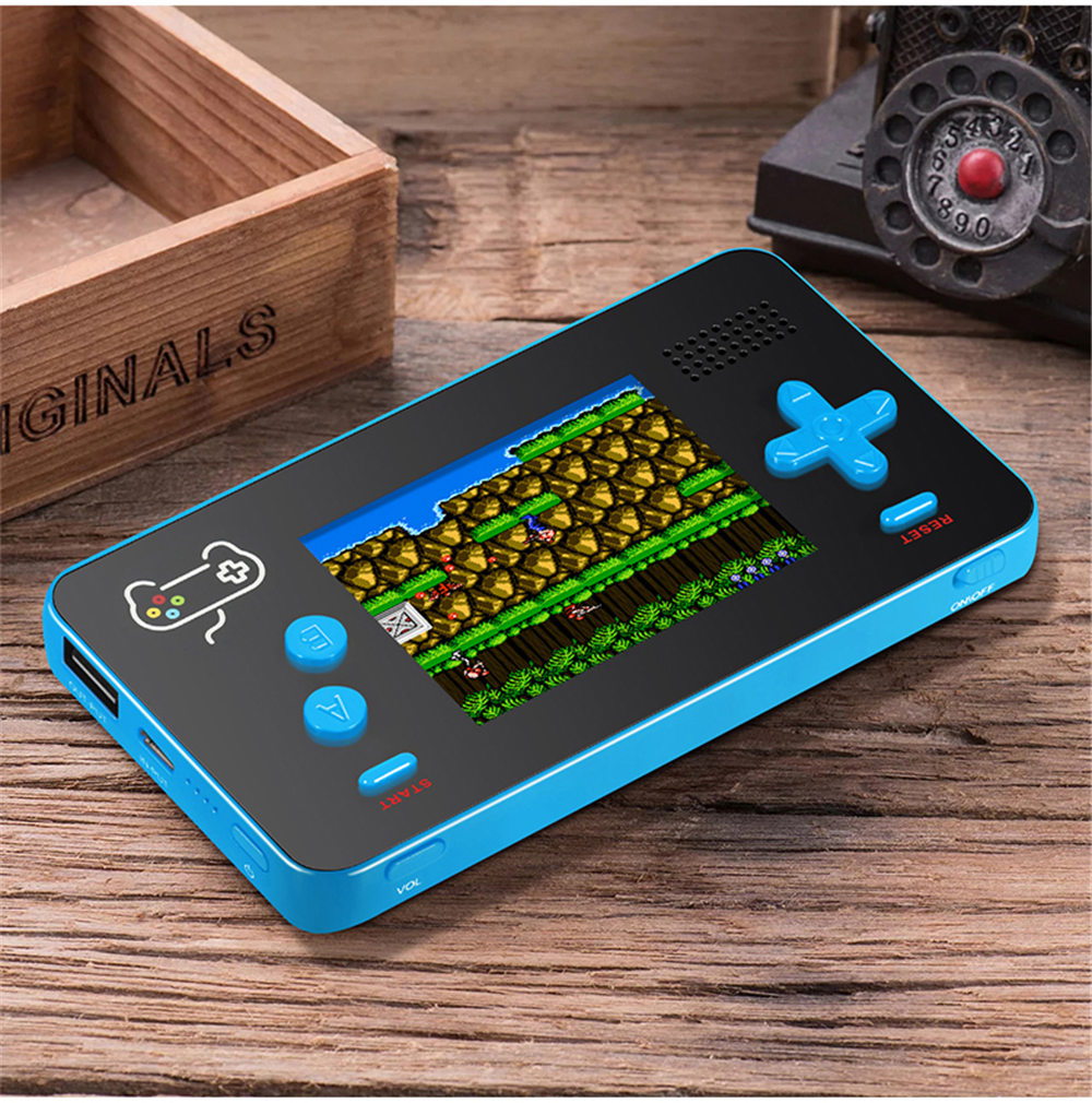 5000mA Portable Mobile Power Retro Handheld Game Console Built-in s 188 8-bit Retro Games for iPhone (2018 NEWS) 4