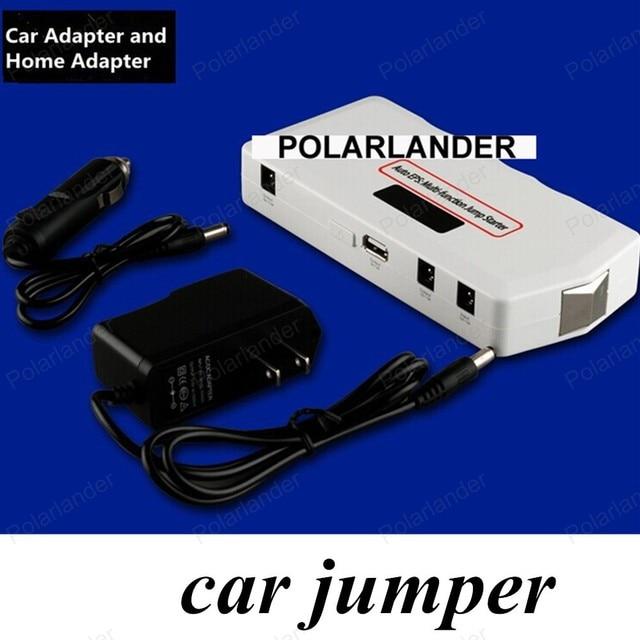 high quality Emergency Multi-function Car jump starter 8000mAh portable power bank Auto Start Jumper LCD Screen 1 USB port