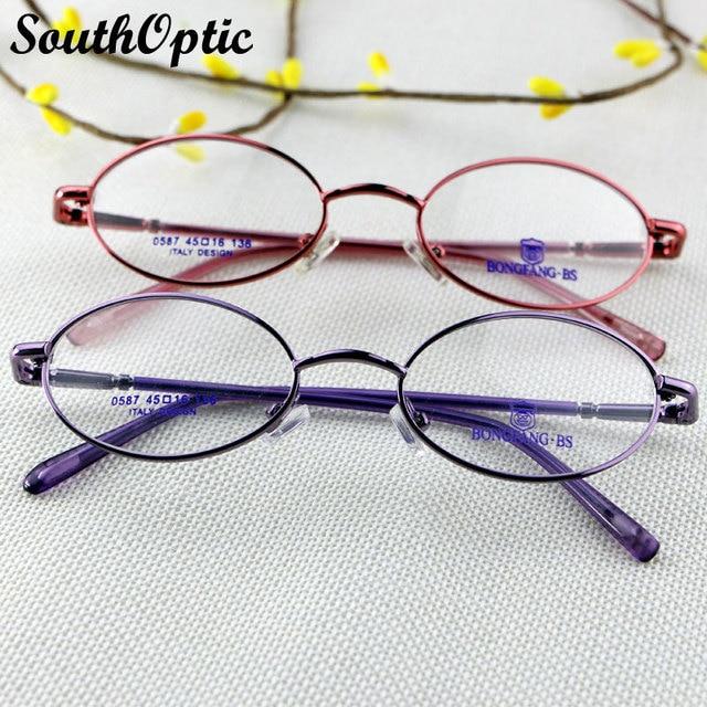 Мода высокое качество сплава полный кадр женщины новое италия дизайн очки близорукость пресбиопии очки оптические 0587