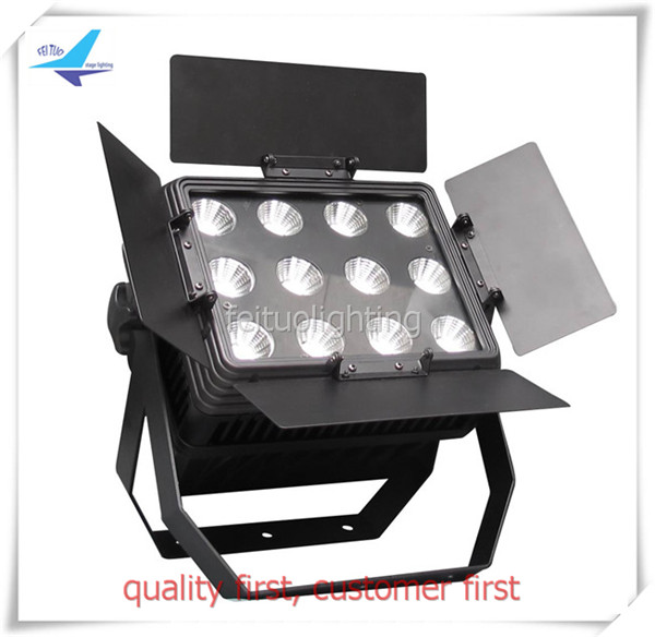 (8/lot)led spot light stage lighting 12pcs 15w barn door spotlight ip65 exterior led wall washer light