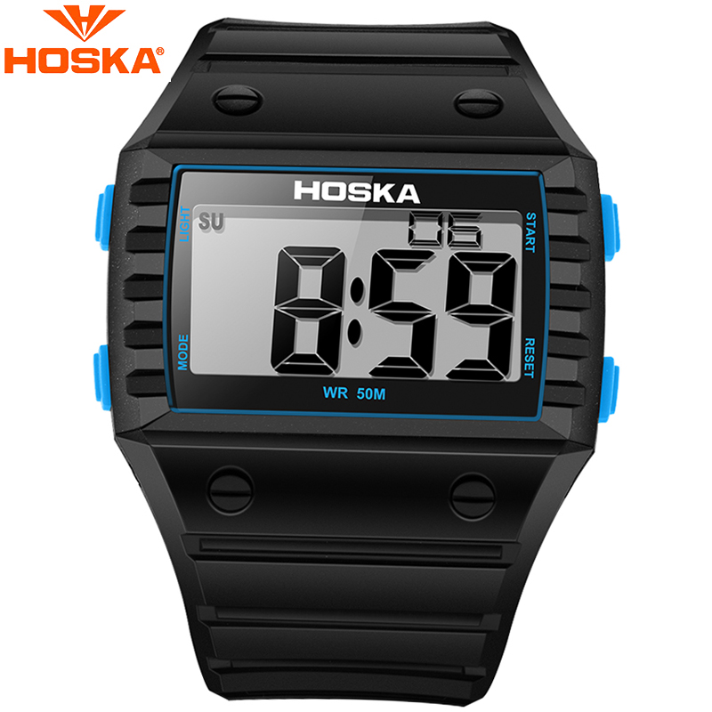Luxury Brand Kids Digital Watch Fashion Children Waterproof Digital Watch Men Sports Watches Multi Functional Wristwatch
