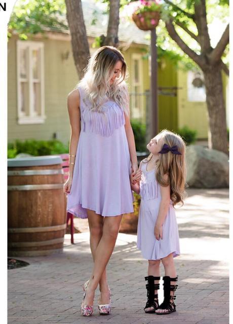 Mamma E Vestiti Uguali Eleganti Figlia R354ALj