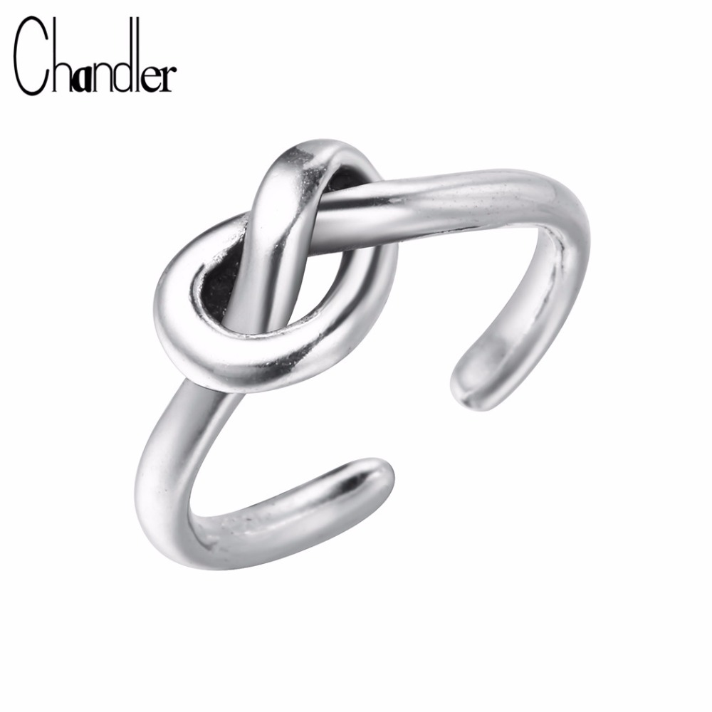 Chandler New Authentic Knot <font><b>Love</b></font> <font><b>Ring</b></font> Antique <font><b>Carter</b></font> Wedding Engagement Romantic Summer Finger Toe Accessary image