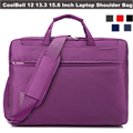 CoolBell Unisex Oxford Laptop Messenger Shoulder Bag Cross Body Computer Sleeve Case for 10 12 13 14 15.6 inch Tablet Ultrabook