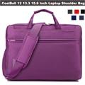 CoolBell Unisex Oxford Laptop Messenger Shoulder Bag Cross Body Computer Sleeve Case for 10 12 13 14 15.6 inch Tablet Ultrabook