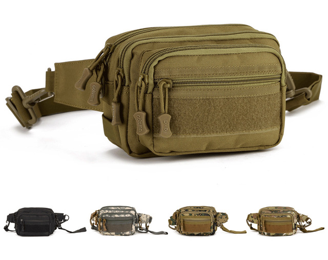 New Men Waterproof Nylon Travel Messenger Shoulder Belt Hip Bum Fanny Pack Waist Bag Pouch