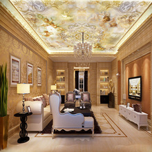"Mural 3D Wallpaper European Style for ceiling "" Little Angel """