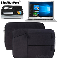 Unidopro Classic Sleeve Briefcase Notebook Aktentasche Handbag Case For CHUWI LapBook 12 3 Laptop Mallette Carrying