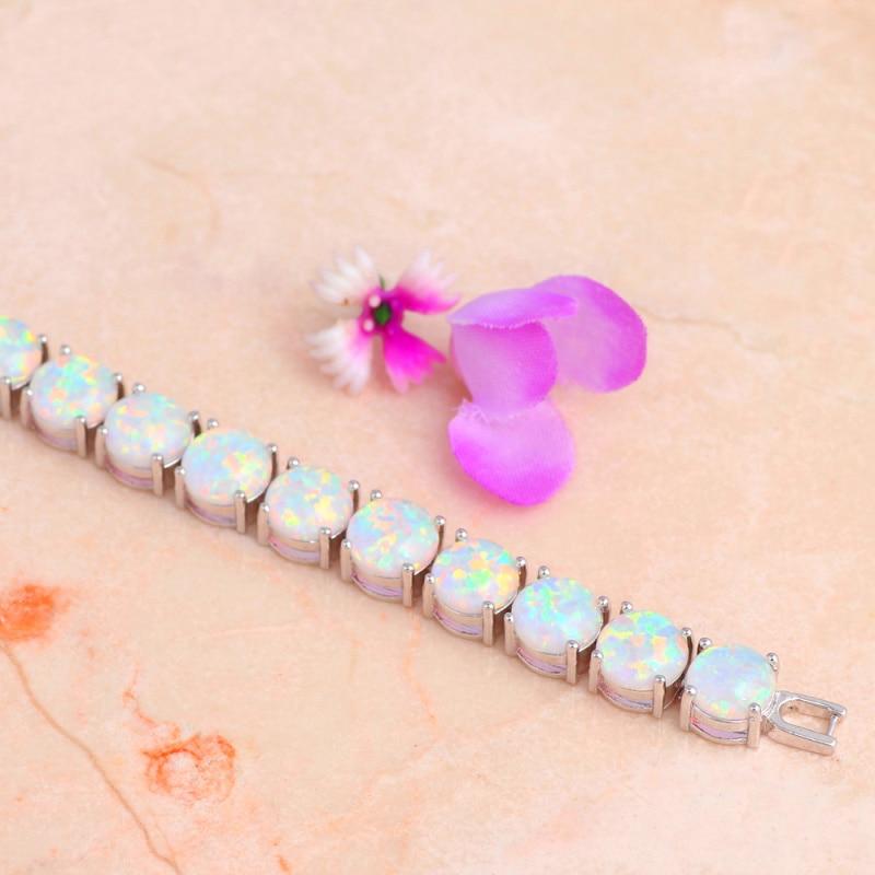 ROLILASON Marka Dizaynının ildönümü Ağ Yanğın Opal Gümüş - Moda zərgərlik - Fotoqrafiya 4