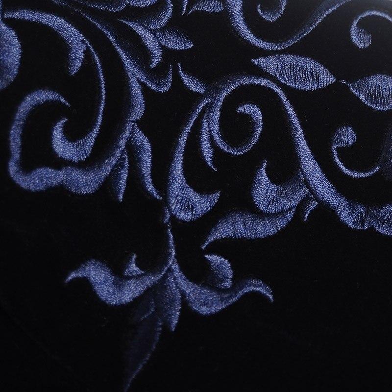 Fit Veste De Qualité Fanzhuan Hommes Vêtements Broderie Manteau Pour Costumes Costume Automne Blazer Outwear Bleu Marques Slim Printemps Haute z8xffwq40