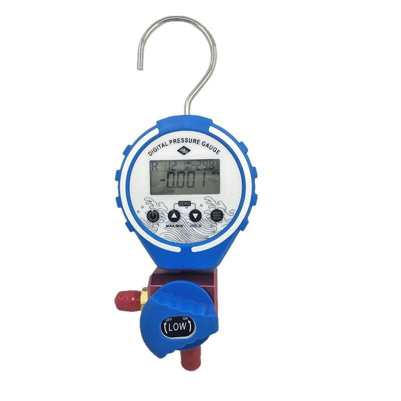 Manifolds digitais Medidor de Pressão De refrigeração de Refrigeração de Ar Condicionado HVAC pressão do Refrigerante ferramenta de reparo
