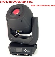 disco dj stage lights dmx spot 7R Beam 230W LED BEAM+ SPOT+WASH 3IN1 Moving Head Lighting led zoom lights