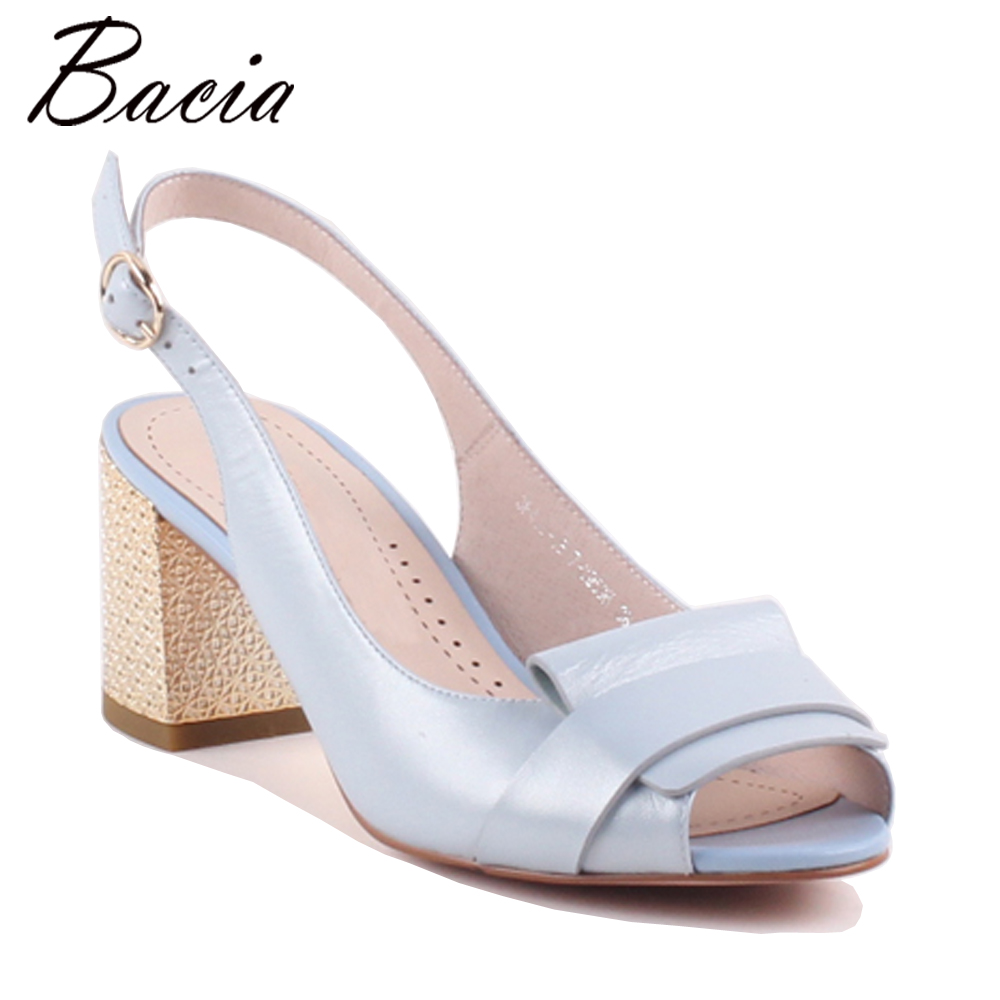 Bacia New Sheep Skin Sandals PINK Decorated Shoes Open Toe Back Strap Genuine Leather Shoes Size 35-40 Handmade Sandal VWB002 spaghetti strap chiffon open back dress