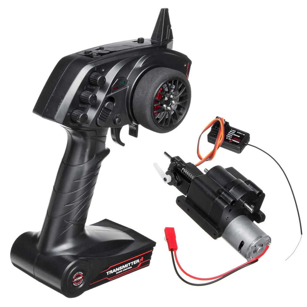 WPL 3CH Скорость изменить Шестерни коробка и радио передатчик для B1 B24 B16 C24 1/16 4WD 6WD RC модели дистанционного Управление запасные Запчасти