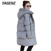 2018 Pregnant Women Down Cotton Winter Hooded Jacket Warmer Coats Korean Loose Parkas Women Long Outerwear Casual Winter Jackets