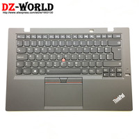 New Original for Lenovo Thinkpad X1 Carbon 3rd TYPE:20BS 20BT Slovenian Backlit Keyboard with Palmrest Touchpad 00HT325 00HN970