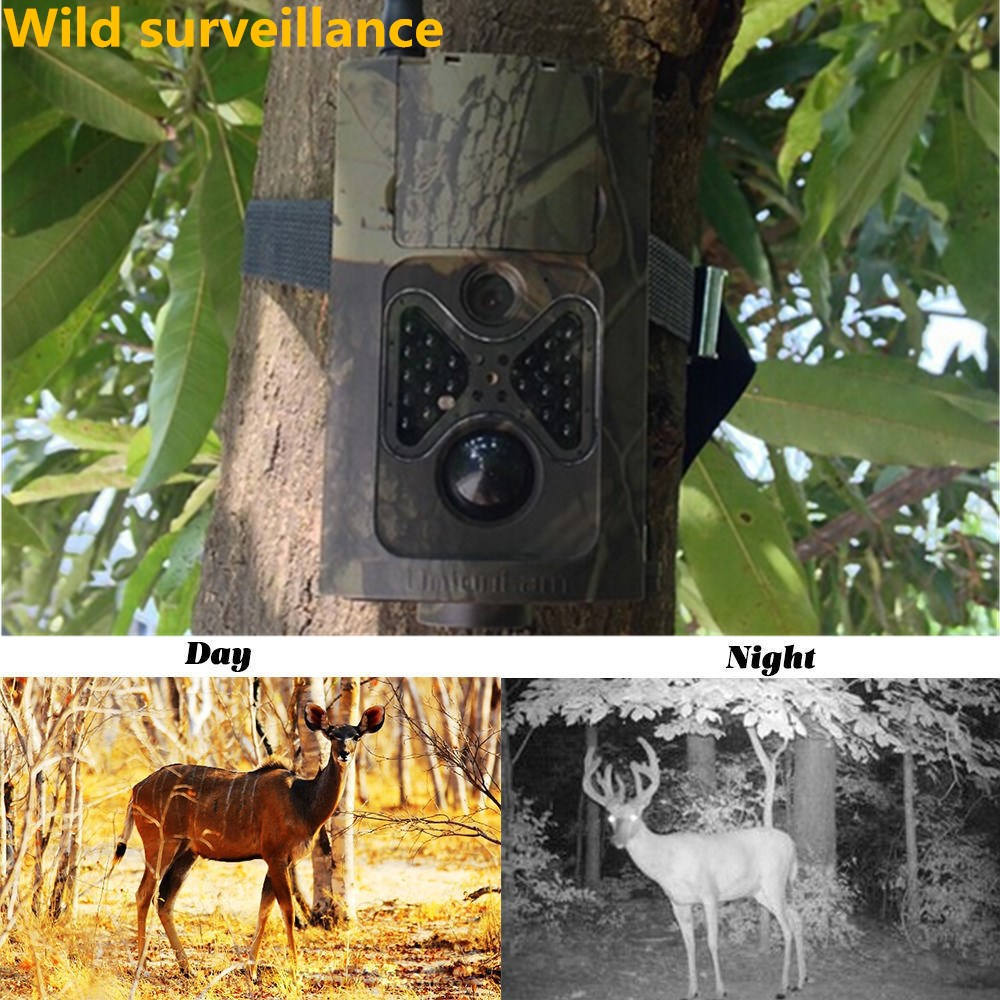 HC 550M Photo Trap Camera MMS 940nm Wild HuntinTrail Camera MMS GPRS Photo Traps 120 degree Wide Viewing Angle Camera Trap Trail цена