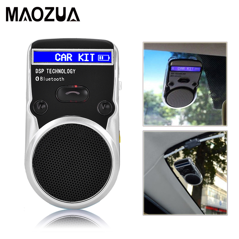 все цены на Solar Power LCD Bluetooth Car Kit Hands Free Adapter AUX Receiver Handsfree Speakerphone for Mobile Phone Cigarette Lighter Usb онлайн