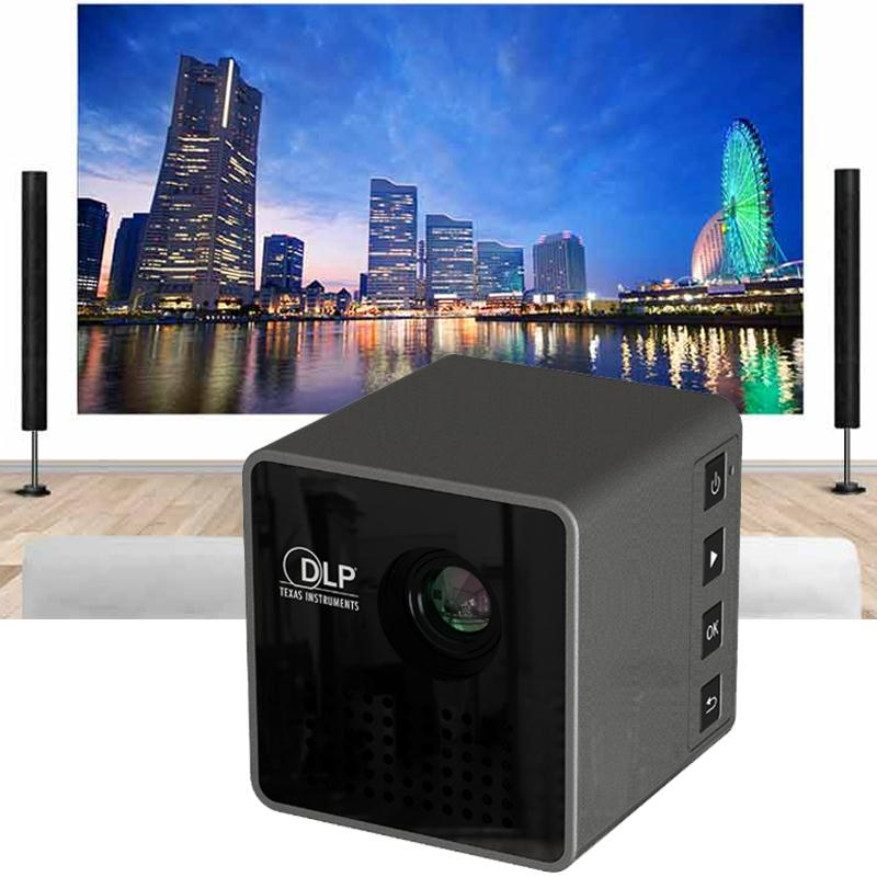 2017 new mini dlp portable portable pico for Smallest micro projector
