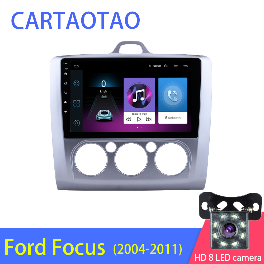 2 5D 2DIN Android Car Radio Multimedia Player for Ford Focus EXI MT MK2 MK3 2004