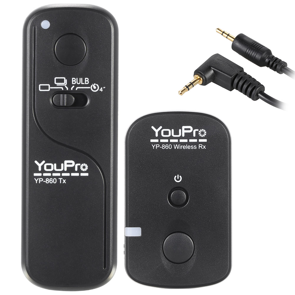 Camera Wireless Dslr Camera Control popular dslr remote buy cheap lots from china youpro yp 860 e3 2 4g shutter release wireless control transmitter receiver for canon
