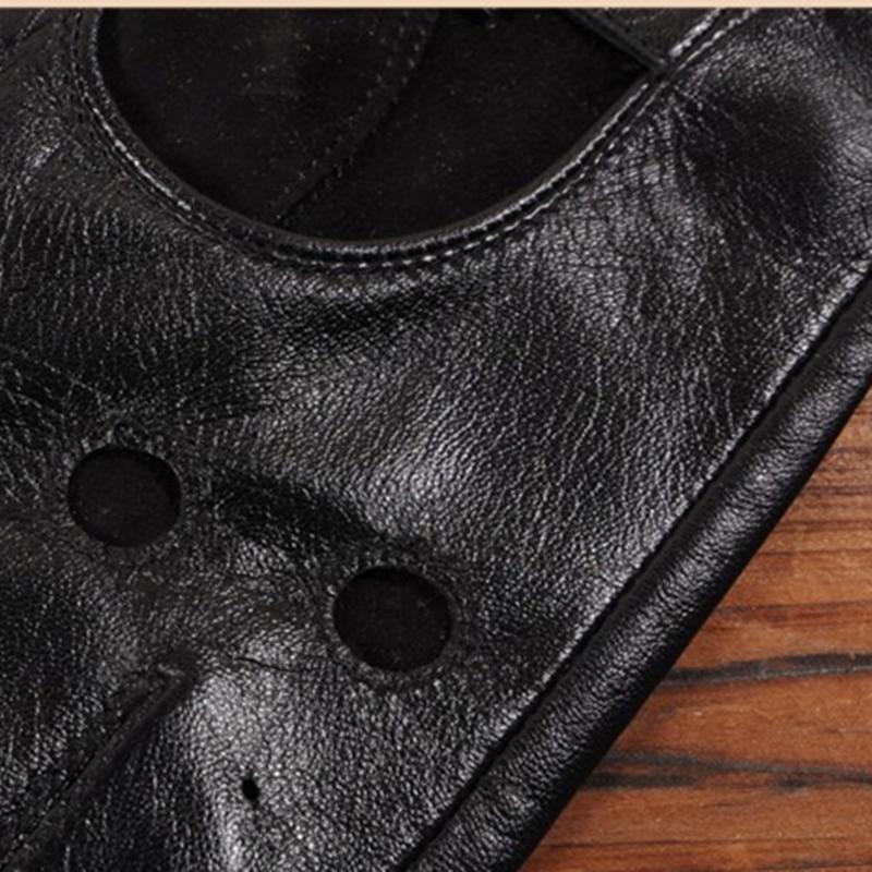 Gours pria Musim Gugur dan Musim Dingin Sarung Tangan Kulit Asli New - Aksesori pakaian - Foto 6
