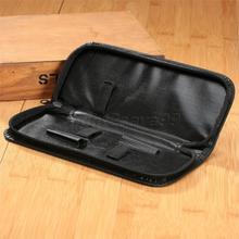High Quality Professional PU Bag New Salon Barber Hairdressing Scissors Comb Tool Storage Zipper Holder Pouch Bag Case 22.3cm
