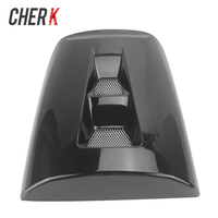 Cherk Motorcycle Black Plastic Passenger Rear Seat Cover Cowl For Honda CBR 1000 RR CBR1000 RR 2004 2005 2006 2007 04 05 06 07