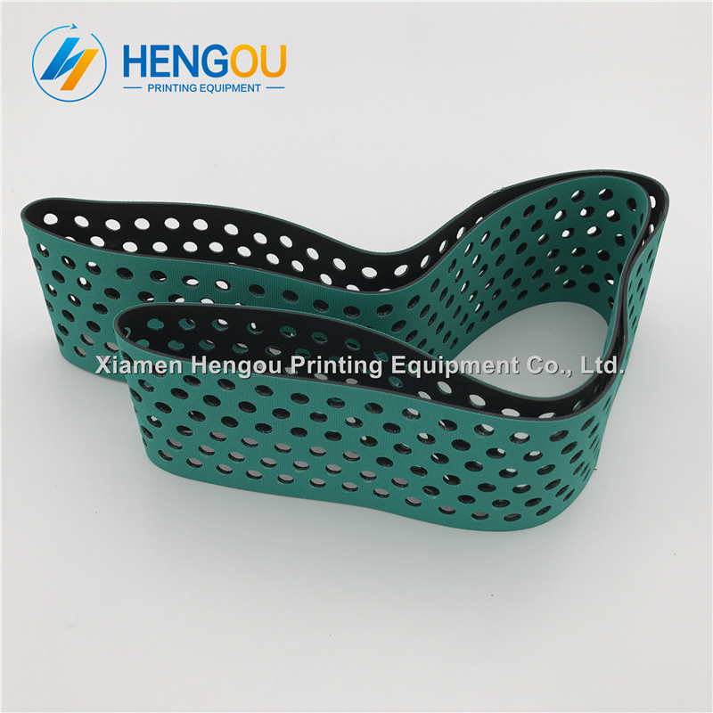 4 Pieces free shipping G2.020.009 heidelberg SM52 PM52 suction tape Heidelberg SM52 belts 20pcs heidelberg sm52 pm52 o seal 00 580 4270 r 60x3mm paper suction spare parts