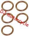 High performance dirt bike exhaust gasket    Wholesale 32mm gasket accessories for mini motocross muffler pipe 1 lot=5 pcs