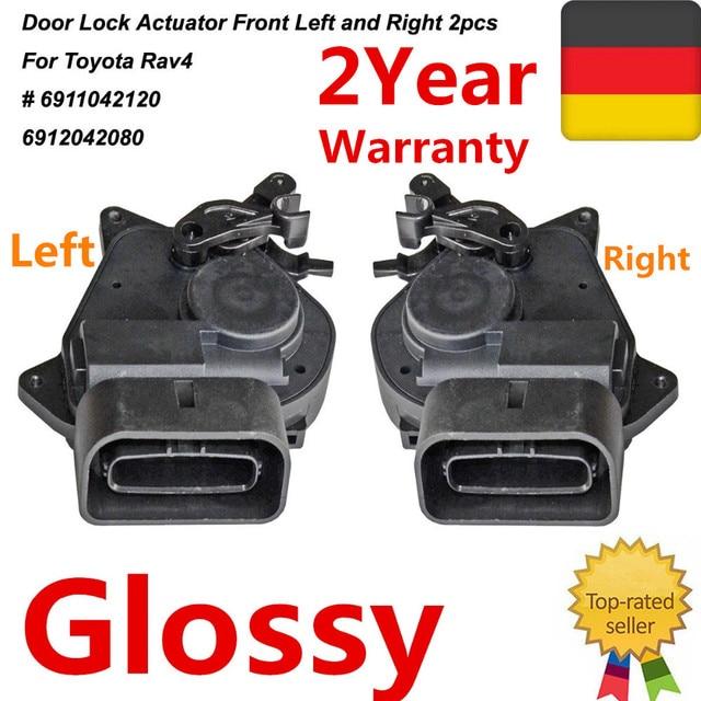 Pair Front Door Lock Actuator Left+Right For Toyota Truck RAV4 New 6911042120 6912042080  sc 1 st  AliExpress.com & Pair Front Door Lock Actuator Left+Right For Toyota Truck RAV4 New ...