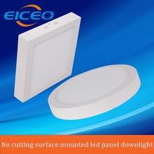 (eiceo) круглый/квадратный поверхностного монтажа потолочные светильники панели освещения светодиодные вт для