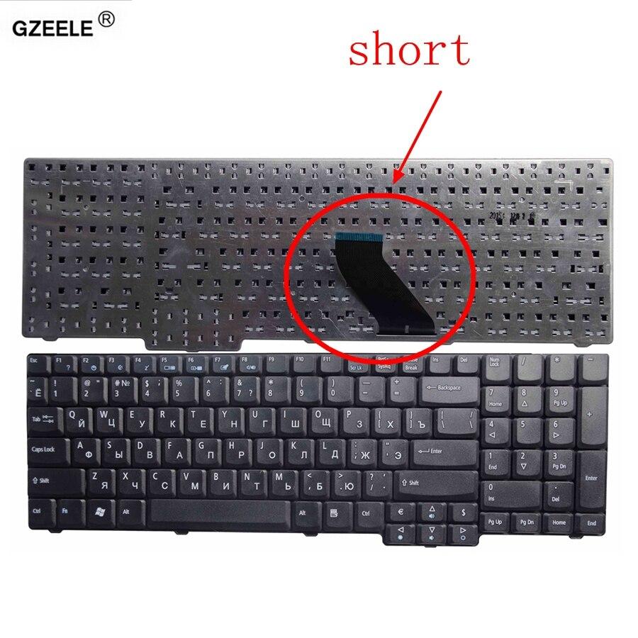 GZEELE Laptop Keyboard FOR ACER Aspire 5235 5735Z 5737 5737Z 5737G 5737ZG 5335 5335Z 5355 5535 5735 RU NEW BLACK RUSSIAN LAYOUT
