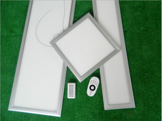 Free Shipping 40W 300X1200MM Color Temperature Adjustable and Dimmable LED Panel Light with Remote Control Aluminum+PMMA free shipping waterproof ip65 led panel 600x600mm high bright led chips with led driver ww nw cw color temperature aluminum pmma