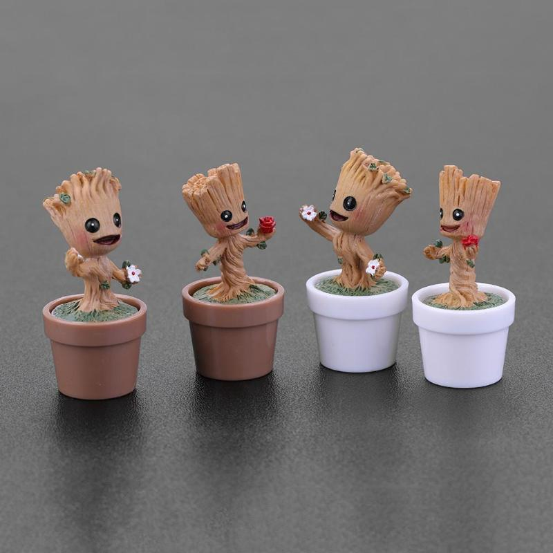 Guardians Of The Galaxy Mini Dancing Groot PVC Dolls Action /& Toy Figure 12cm H