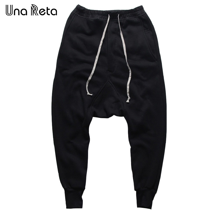 Men Pants Una Reta Trousers Thickening Winter Fashion Brand New Small Autumn Feet Leisure