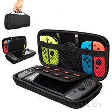 Carcasa dura portátil para Nintendo Switch, bolsa de almacenaje de transporte EVA resistente al agua para switch NS
