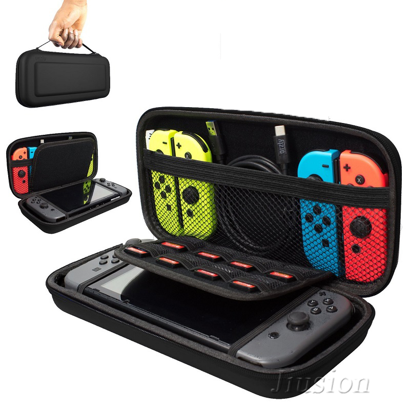 Portable Hard Shell Case for Nintend Switch Water-resistent EVA Carrying Storage Bag for Nitendo switch NS Console Accessories(China)