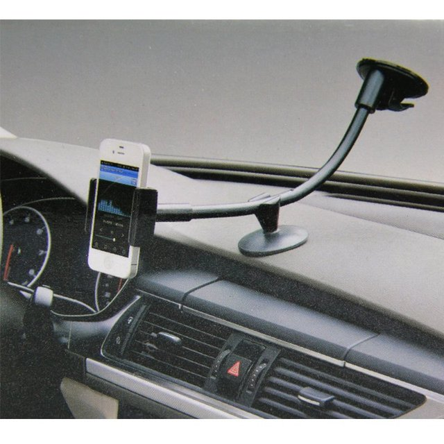 360 Rotating Car Windshield Dashboard Phone Holder Car Mount Cradle Stand Kit for iphone 4 4s 5 5s 6 plus for samsung For Tablet