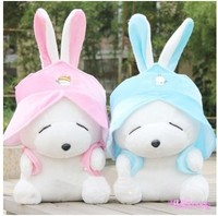 The rascal rabbit plush toy cute rabbit doll lovely cartoon rabbit birthday gift 2 colors 5 size for choose