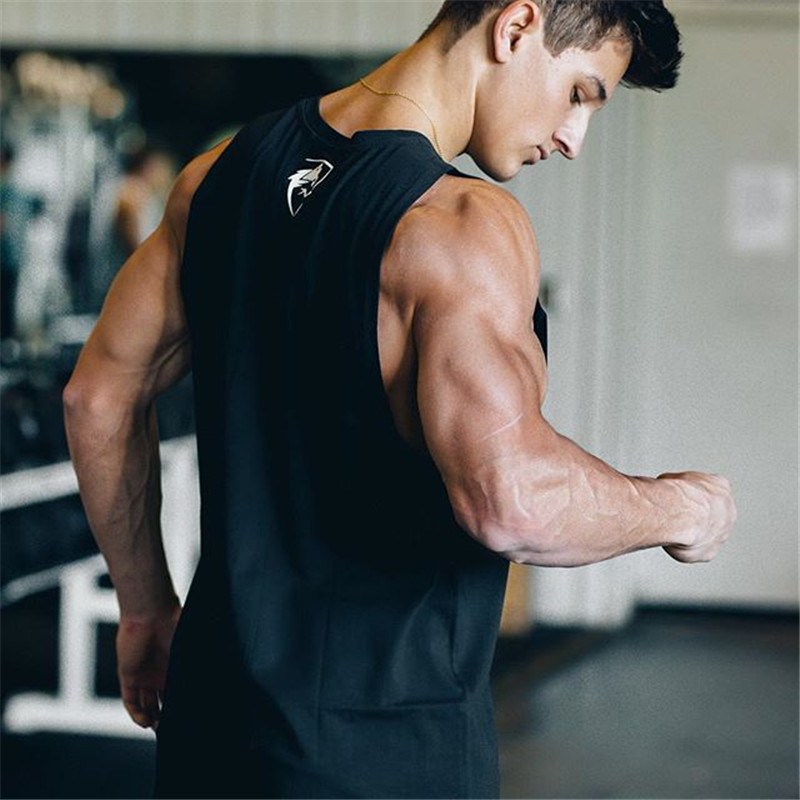 ALPHALETE 2018 Gyms   Tank     Tops   Bodybuilding Men   Tank     Top   Sleeveless Shirts tees Muscle Men fitness   tank     tops   mens clothing