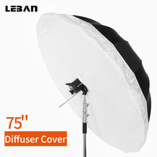 """Studio Photogrphy 70 """"178 cm/75"""" 190 cm Wit Zwart Reflecterende Verlichting Licht Paraplu Diffuser Cover (diffuser Cover Alleen)"""