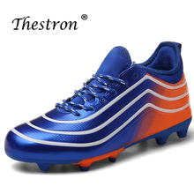 Classic Soccer Trainers MalS Anti-Slip Turf Boy Football Shoes Lace Up Outdoor Children Soccer Shoe Unisex Latest Soccer Cleats soccer shoes children boy girl new hot sale rubber soccer outdoor sport athletics breathable comfortable children shoes