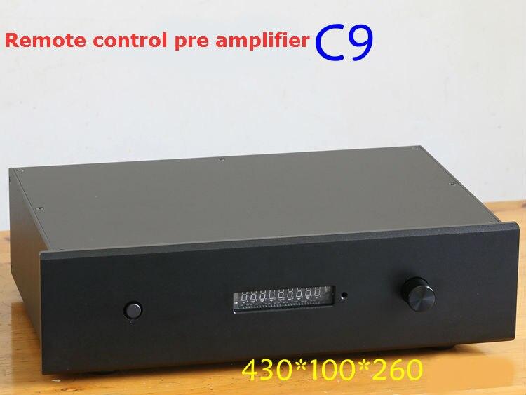 C9 remote control version of MBL6010D circuit balance preamp 1way balance and 3 way RCA input